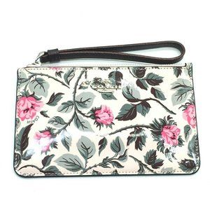 COACH F25792 Floral print Rose flower pattern Cosm